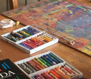 créativité pastel arts