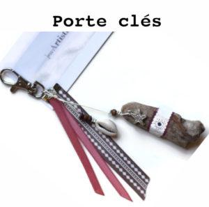 porte clés bois flotte